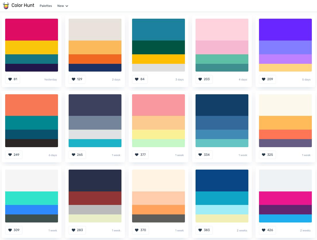 color-hunt