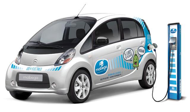 Mobega: servicio de alquiler de coche eléctrico en Galicia